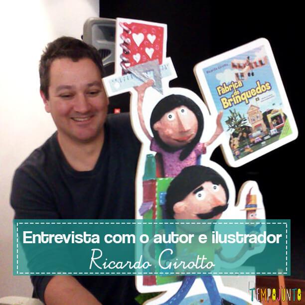 Livro brincante: A fábrica de brinquedos de Ricardo Girotto