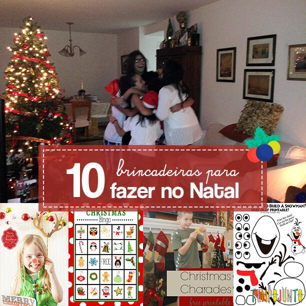 10 ideias de brincadeiras de Natal