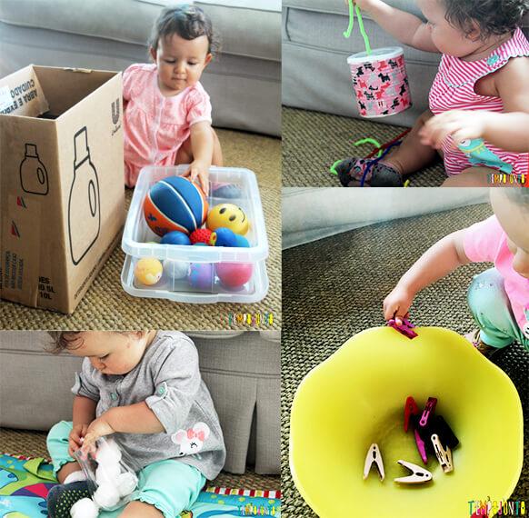 As melhores brincadeiras para fazermos dentro de casa - montagem bebe