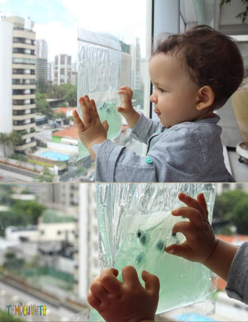 brincadeiras sensoriais para bebês descoberta sensorial