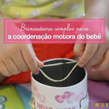 Como estimular a coordenação motora dos bebês