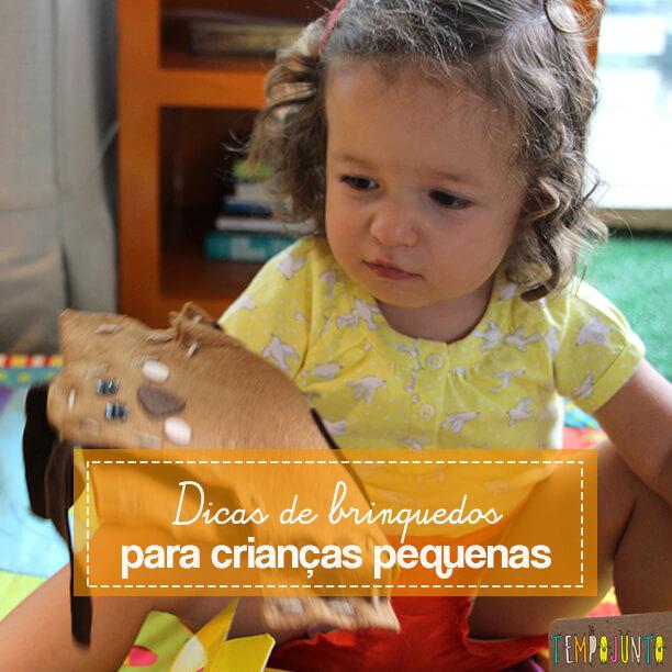 Dicas de brinquedo para crianças de 2 a 4 anos