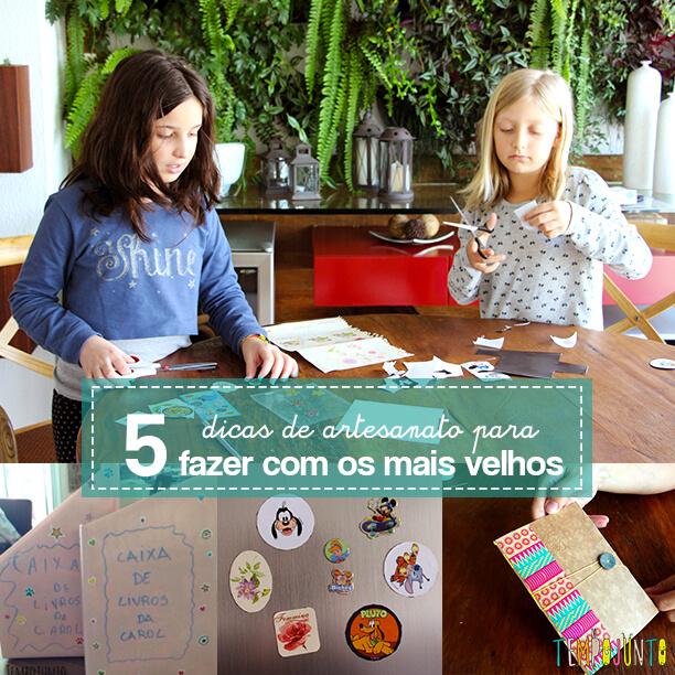 5 ideias de artesanatos para crianças mais velhas capa