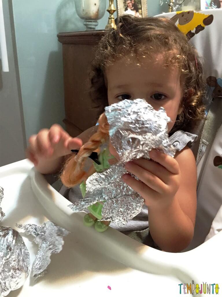 Como estimular a concentração dos filhos - gabi desembrulhando a ana