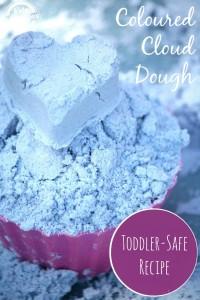 Como fazer areia caseira - cloud-dough kidsactivities