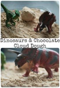 10 ideias de brincadeiras com dinossauros - escavação de dinossauro