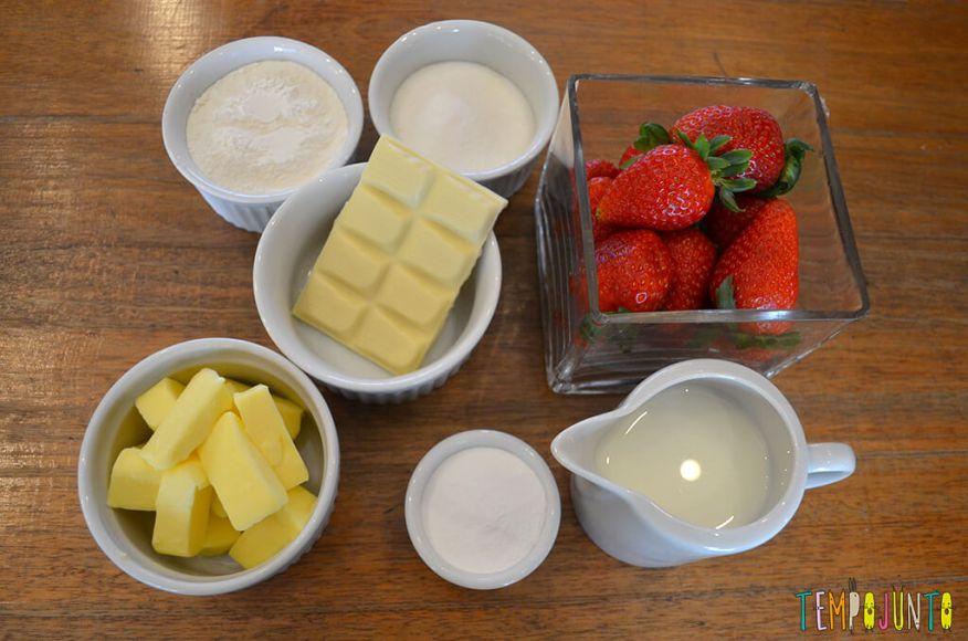 Presente da mamãe feito pela Chapeuzinho Vermelho - Tempojunto na Cozinha - ingredientes 1