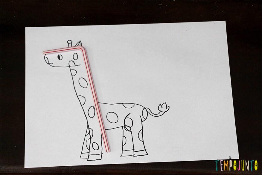 Vamos estimular a criatividade das crianças - desenho pronto