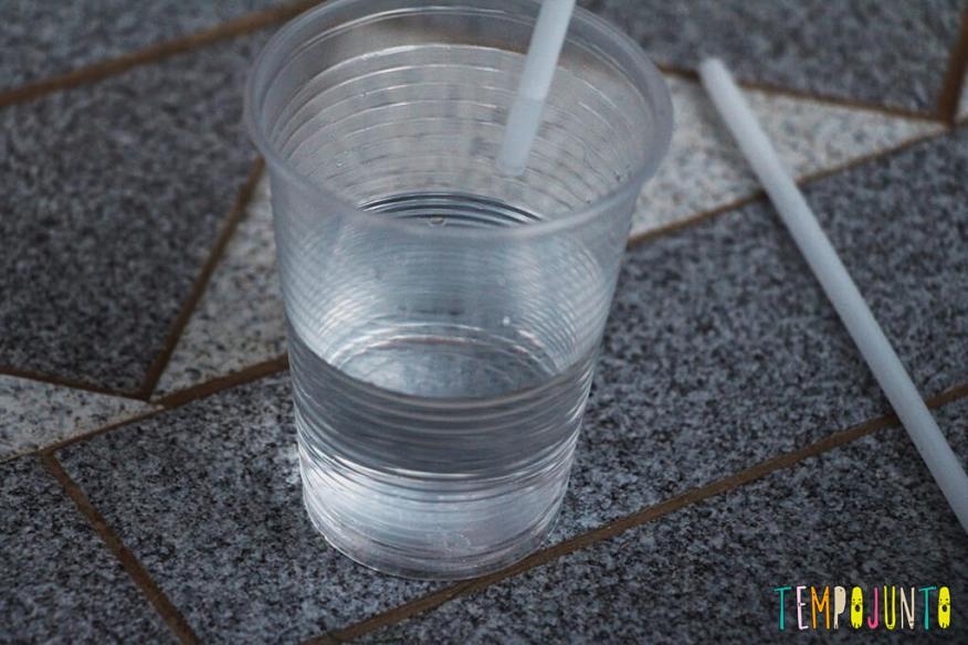 Minhoca de canudo - canudo de água