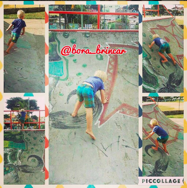 10 brincadeiras na pracinha - Borabrincar_rampa de skate