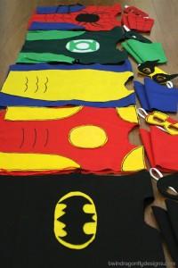 10 maneiras de brincar de super-herói - fantasias sem costura