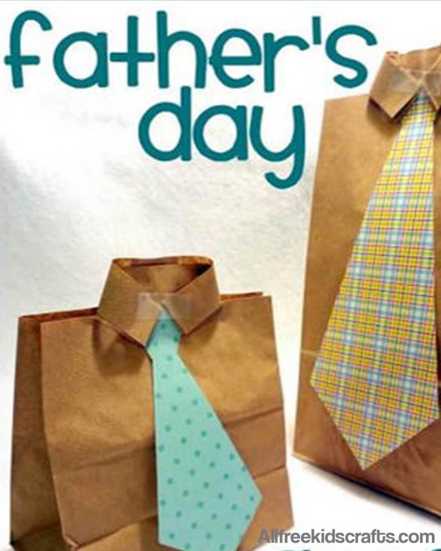 10 presentes feitos em casa para o dia dos pais - saco de guloseimas