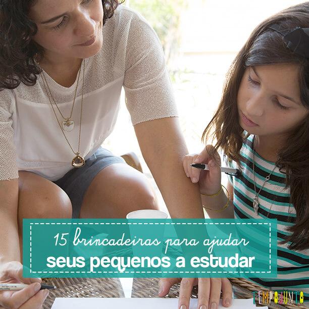 15 Brincadeiras que ajudam na hora de estudar