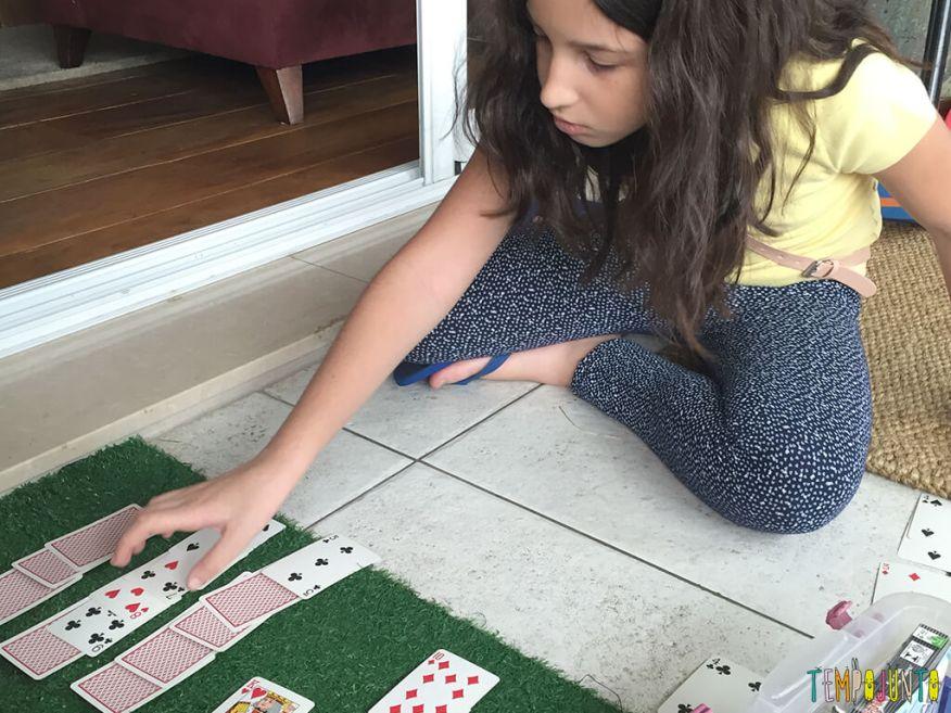 Paciencia - carol jogando