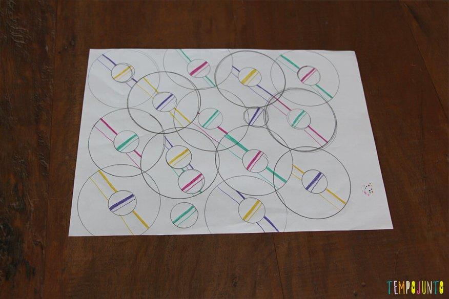 Zentangle - desenho pronto