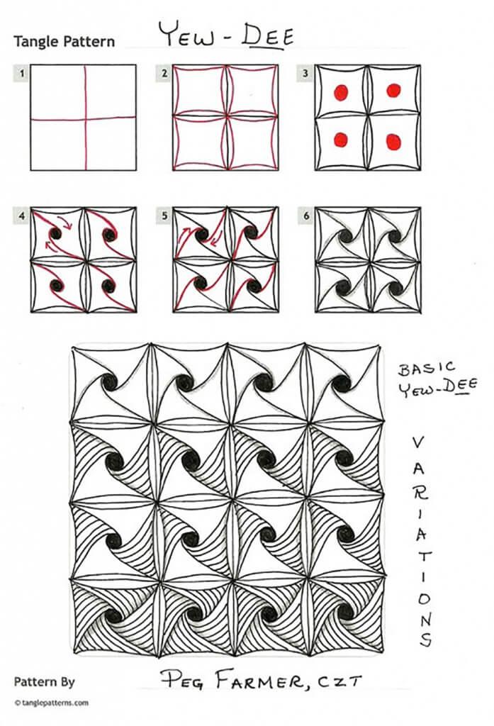 Zentangle - tangle