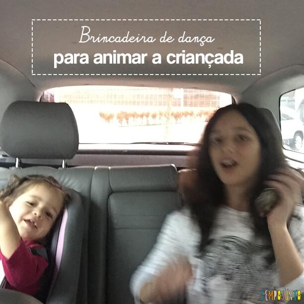 Brincadeira de dança para animar a criançada!