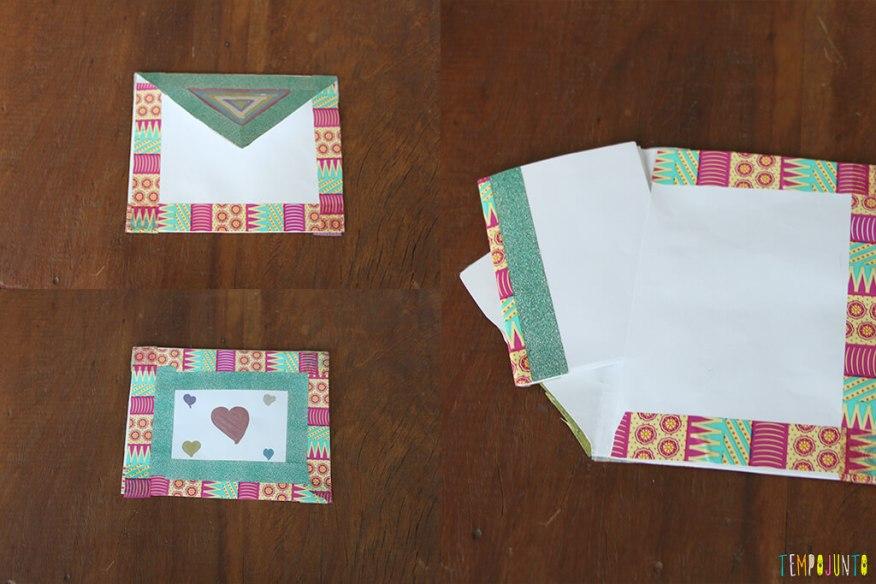 Caderninho de papel - caderno decorado