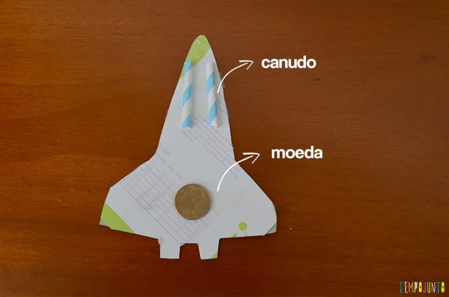Um brinquedo caseiro super divertido feito com papelão e barbante - canudo e moeda