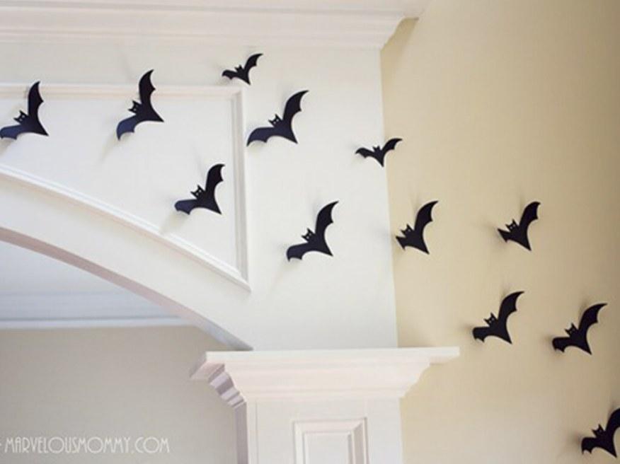 10 ideias para o halloween das criancas - revoada de morcegos