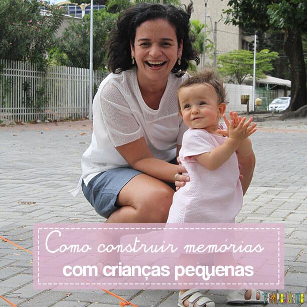 Como construir memórias para crianças pequenas