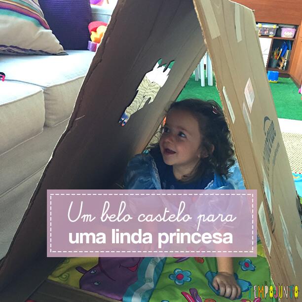 Como fazer uma cabana de caixa de papelão