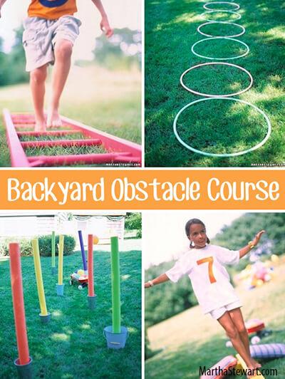 10 dicas de brincadeiras para fazer no quintal - corrida de obstaculos