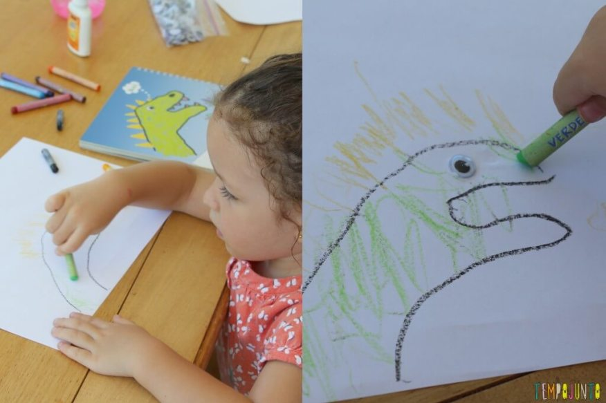 Como fazer desenho com as mãos - desenho quase pronto