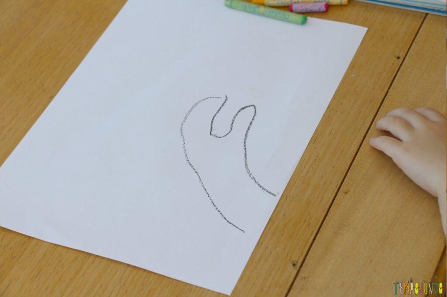 Como fazer desenho com as mãos - mao desenhada