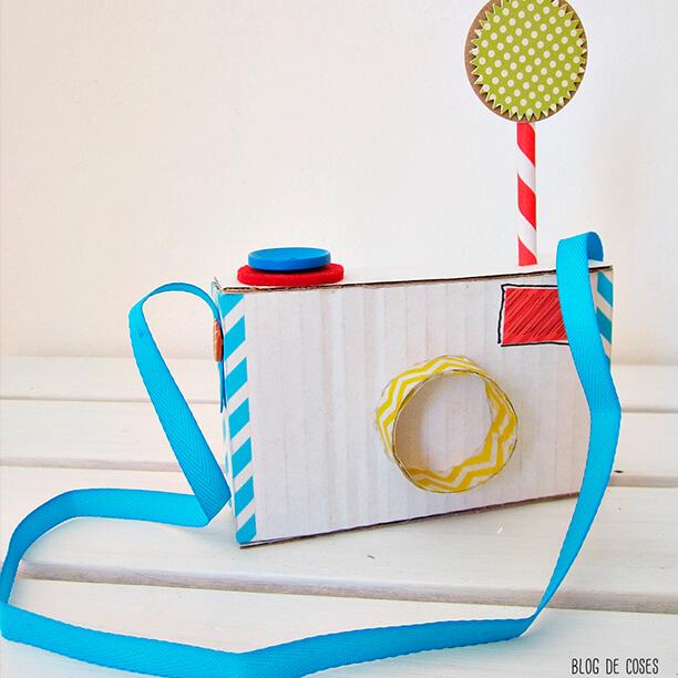 10 brinquedos caseiros - maquina fotografica