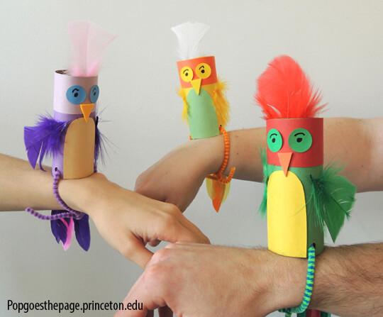 Mais ideias criativas com rolo de papel higiênico_perfect-parakeets