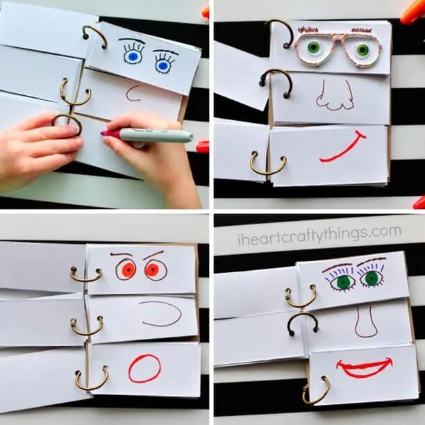 10 atividades de artes fáceis de fazer com as crianças -  elefante de papel