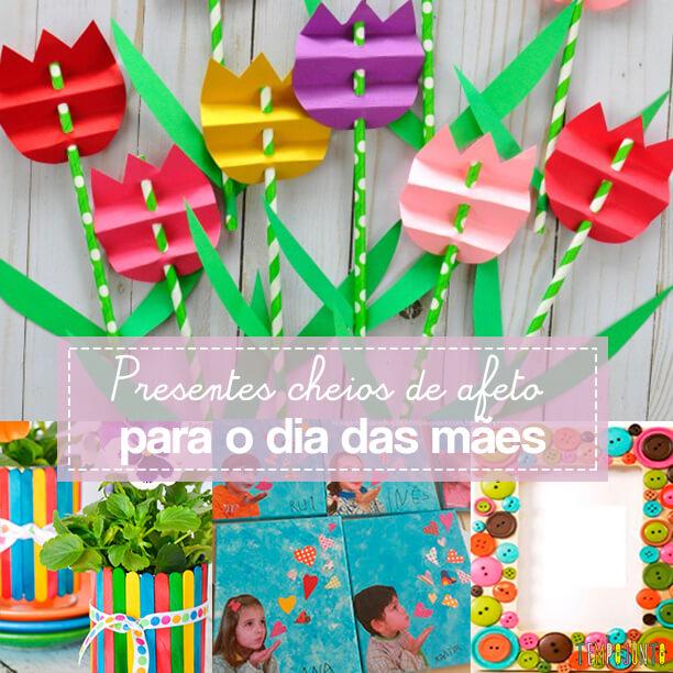 10 presentes feitos pelas crianças para o Dia das Mães