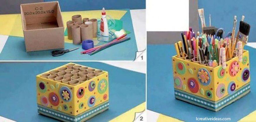 10 ideias de presente dia das maes - organizador de mesa