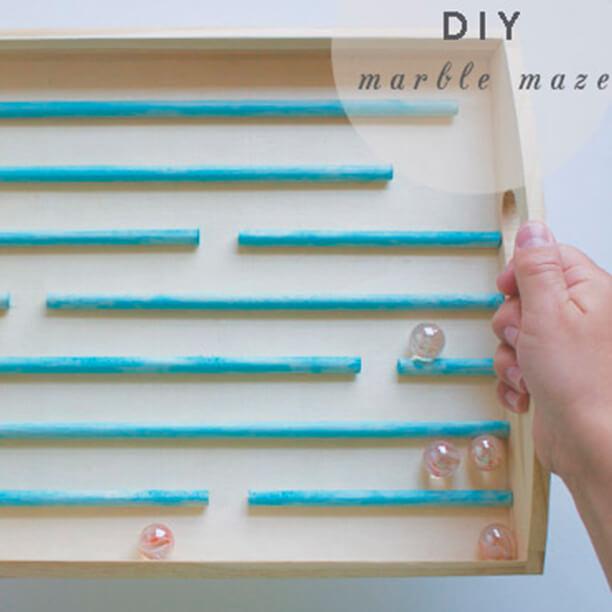 10 maneiras de fazer labirintos - labirinto de canudo