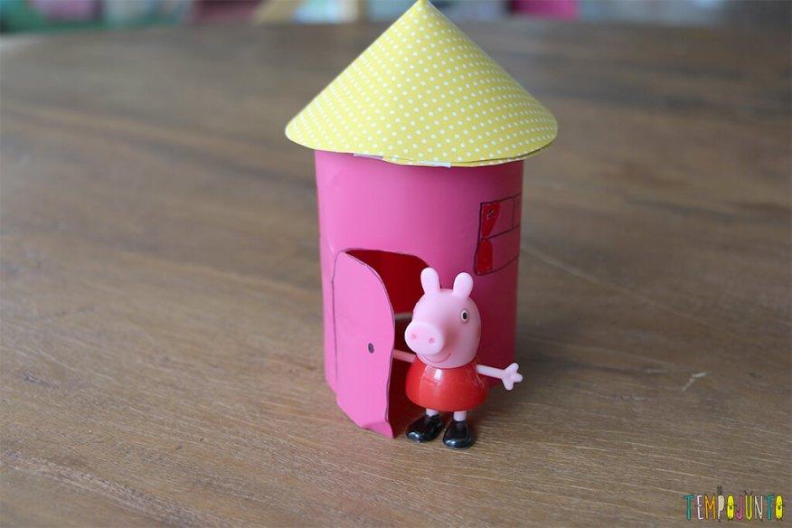 Como fazer uma casinha para as bonecas - casinha pronta