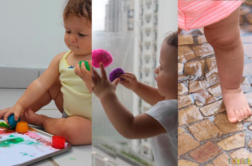 E-book Atividades Sensoriais para estimular seu bebê - pout pourri