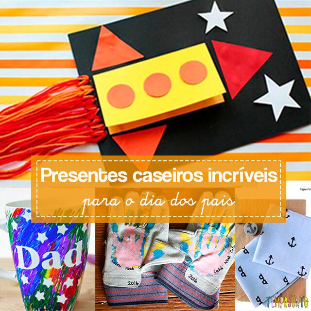 10 ideias criativas de presentes para o Dia dos Pais