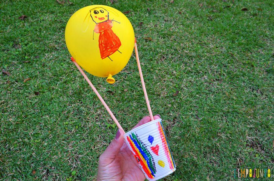 Balão copo descartavel - opção brinquedo pronto 1