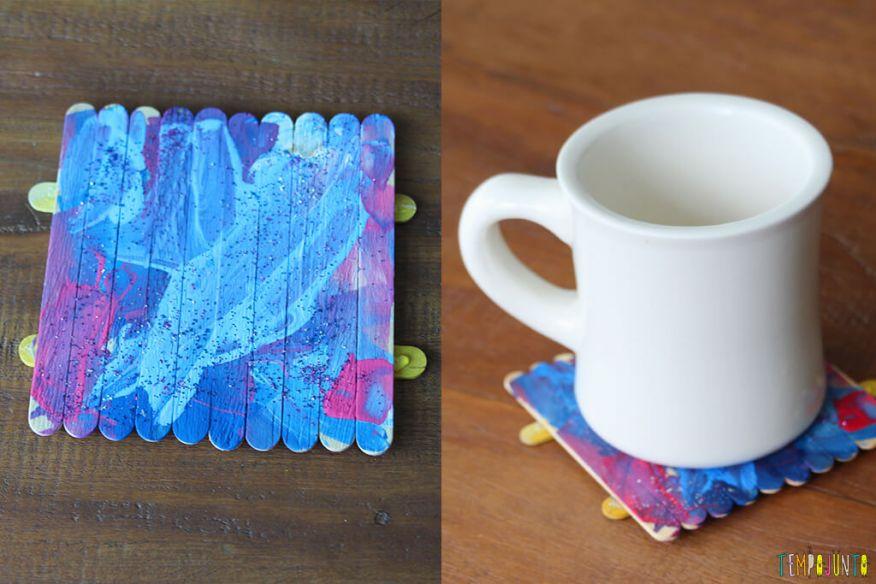 atividade de artes para crianças com pintura