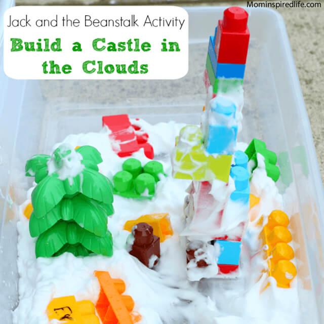 10 maneiras diferentes de criar um castelo para as crianças - castelo nas nuvens