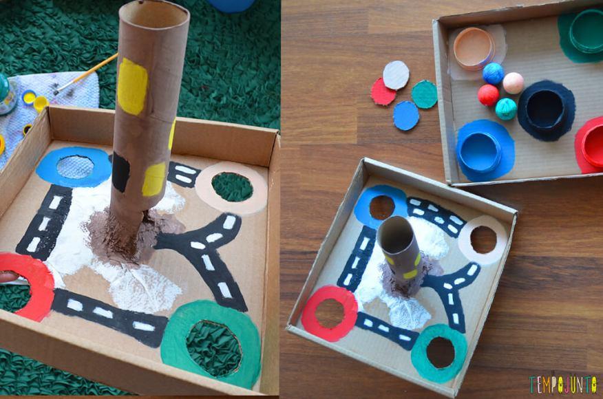 Um brinquedo para praticar a paciência e o sentido de direção - brinquedo pronto