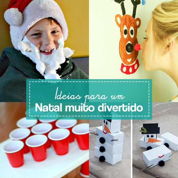 10 brincadeiras para fazer no Natal