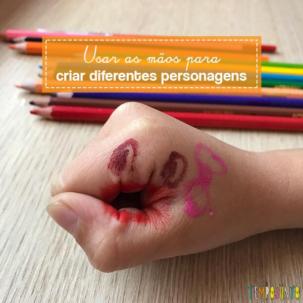 Fantoche de mãos contribui para ampliar a imaginação das crianças