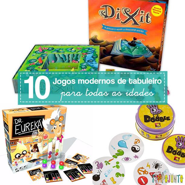 10 jogos de tabuleiro ultra legais que você desconhece