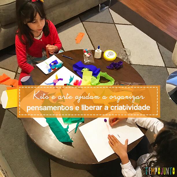 Arte sem frescuras para as crianças soltarem a imaginação