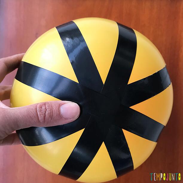 7ff67ee949569 Bola de basquete caseira para brincar a toda hora - Tempojunto ...