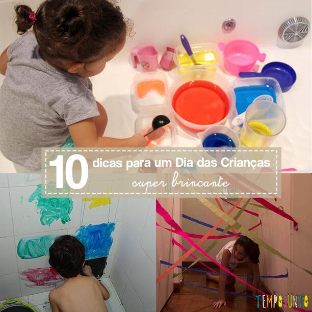 10 brincadeiras para animar o Dia das Crianças