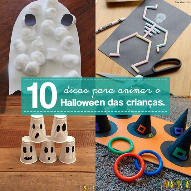 10 brincadeiras para um Halloween divertido