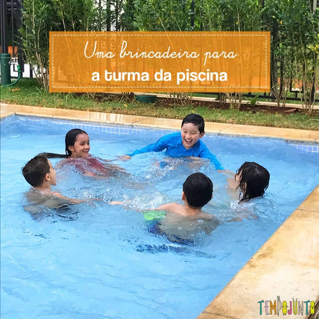 Turbilhão para brincar na piscina com os amigos